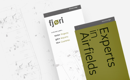 fjori bespoke graphic design and printed leaflet by epix media