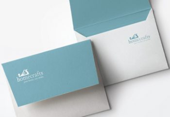 Homecrafts envelopes design and print