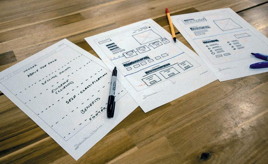 Website Wireframing