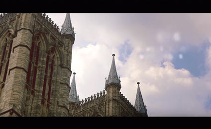 lincoln cathedral image shot from documentary that epix media did