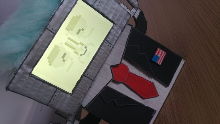robot cardboard