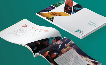 NK Academy Prospectus artwork mock-up made by epix media