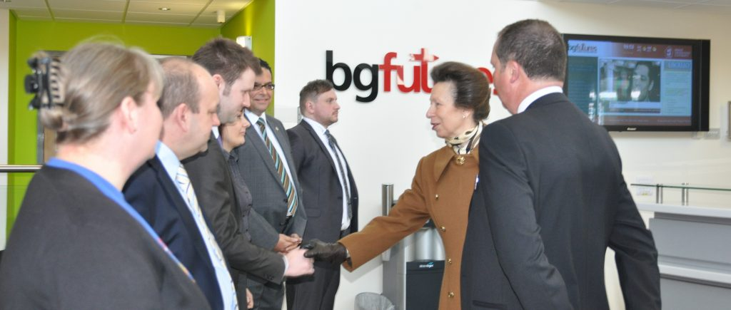 Royal visit to Epix Media
