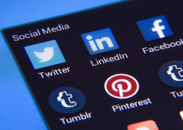 Social media pages